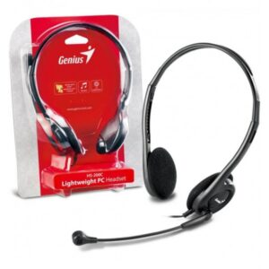 Audifono- Diadema+ microfono Genius Hs-300N