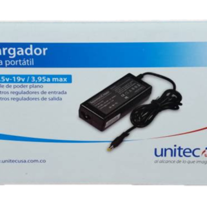 Cargador Unitec Punta Amarilla 18.5v 3.5a